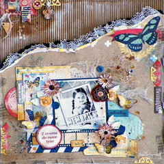 Sweet Life Layout **Lisa Novogrodski **