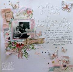 """Mrs Richards"" layout by Bernii Miller"