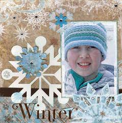New Bo Bunny Release - Winter Whisper