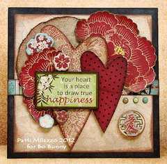Happiness by Patti Milazzo featuring Serenity from Bo Bunny