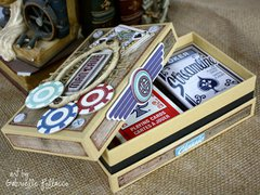 Playing Card Storage Box by Gabrielle Pollacco