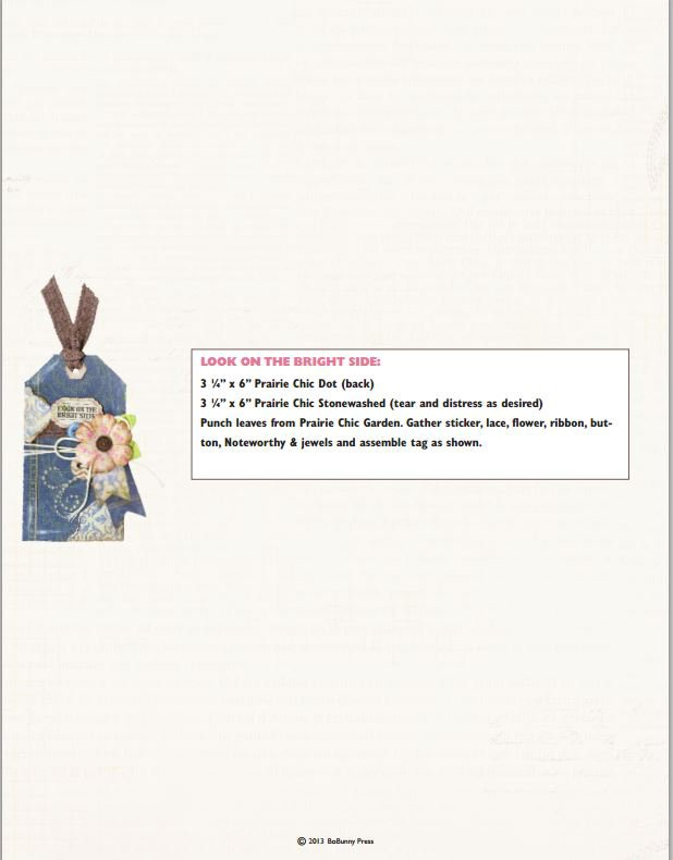 Prairie Chic Tags from Bo Bunny