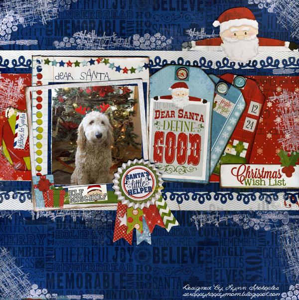 Santas Little Helper by Lynn Shokoples