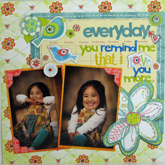 Everyday You Remind Me by Sarah Eclavea featuring Alora from Bo Bunny