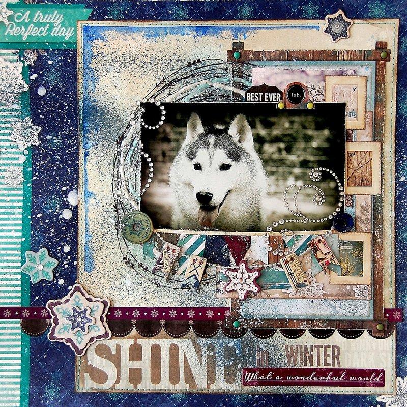 Shine In Winter by Irene Tan