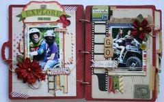 Travel Mini Album by Gabrielle Pollacco