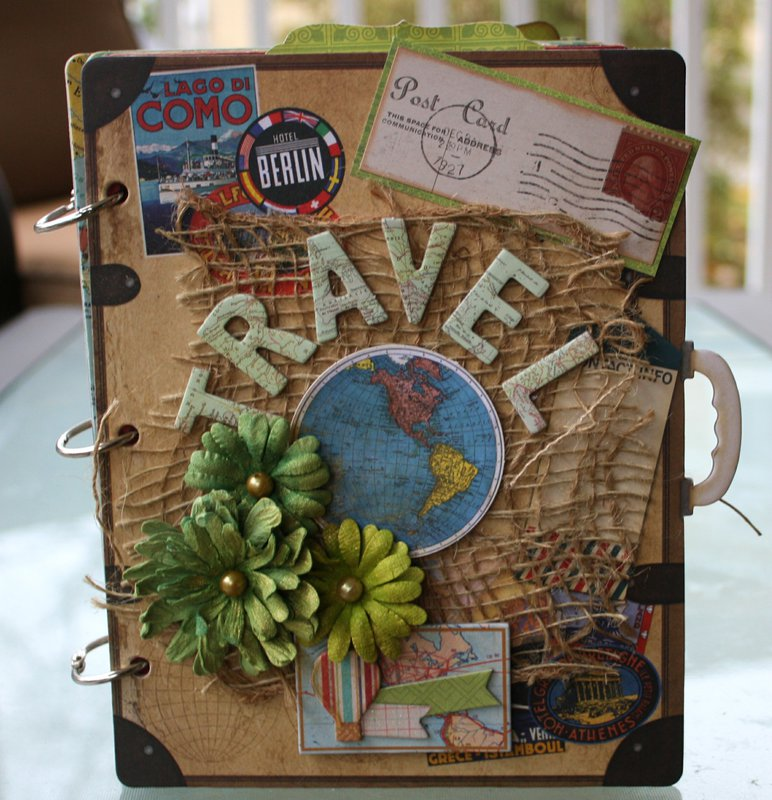 Travel Mini Album by Gabrielle Pollacco