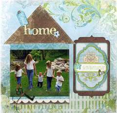 Introducing the Welcome Home collection from Bo Bunny
