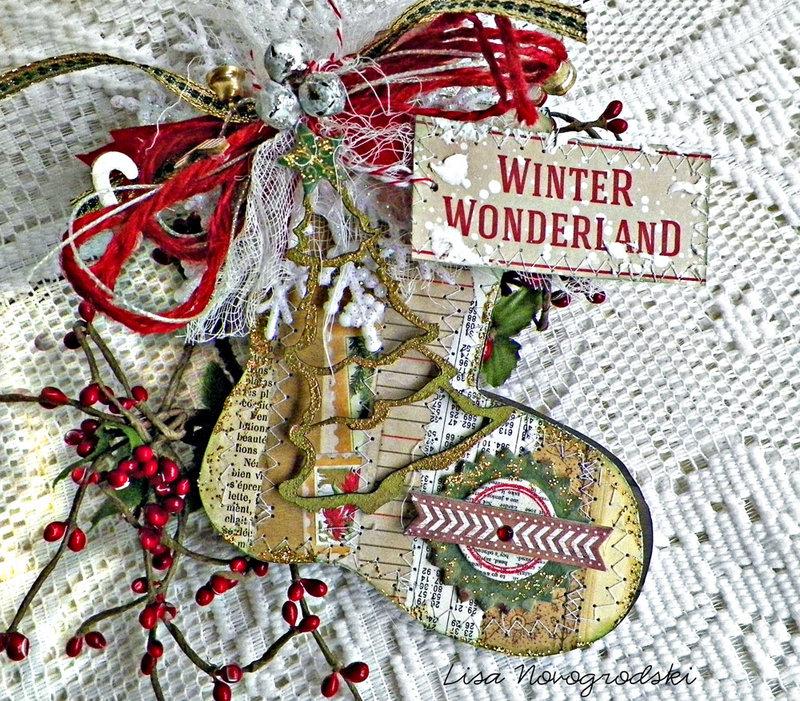 Winter Wonderland Card- Lisa Novogrodski