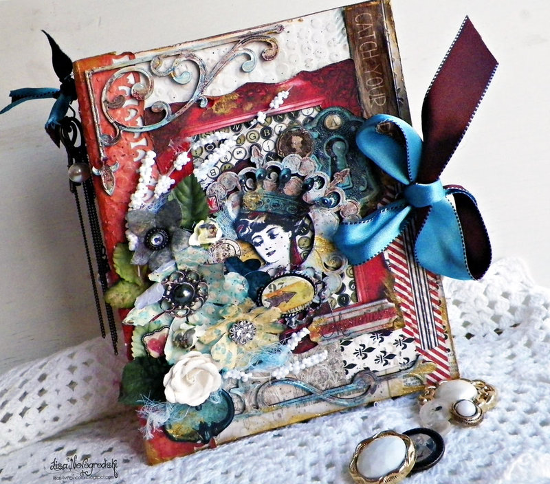Altered Book Box - Lisa Novogrodski