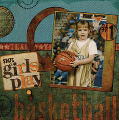 Girls Play Basketball Page 1