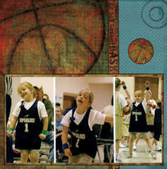 Girls Play Basketball