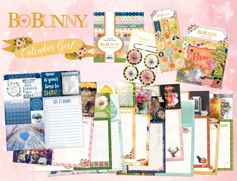 New Calendar Girl Collection from Bo Bunny