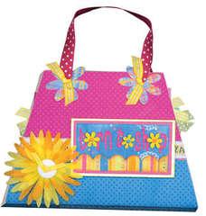 Born to Shop Purse Board Book Class Kit