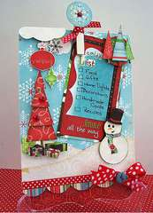 Things to Do Christmas Clipboard