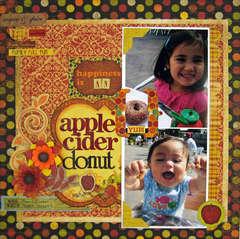 Apple Cider Donut by Sarah Eclavea