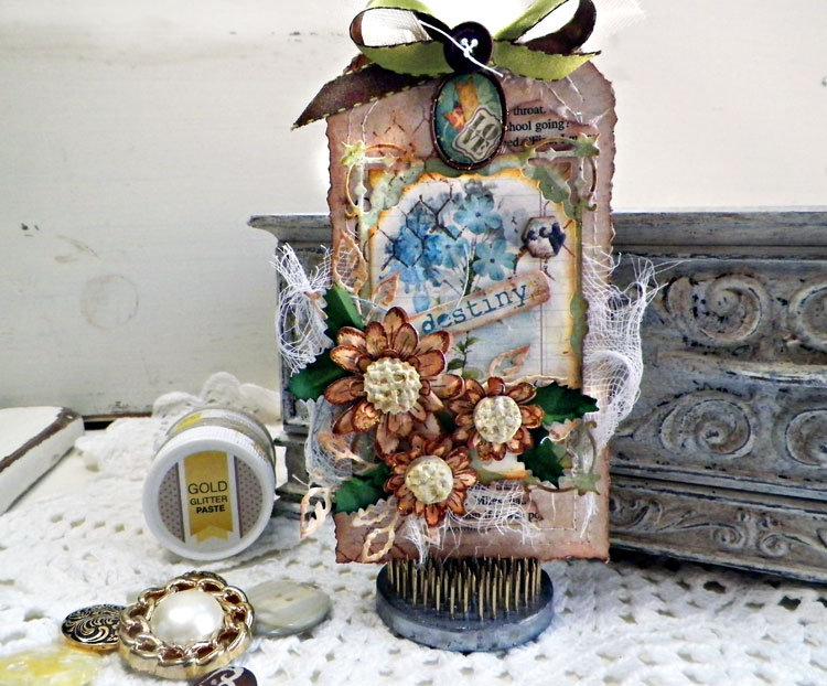 Garden Journal Tag - Lisa Novogrodski