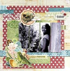 Garden Journal Layout