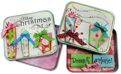 Holiday Gift Card Holder Tin
