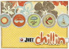Just Chillin Card
