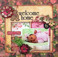 Welcome Home by Robbie Herring featuring Little Miss from Bo Bunny