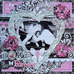 Love Forever by Bo Bunny DT Member:  Carin