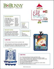 Bo Bunny Elf Magic Project Instructions