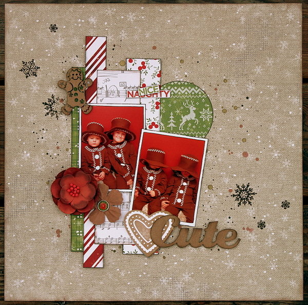 Too Cute Christmas Layout