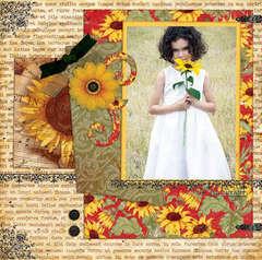 Tuscany Flower Girl