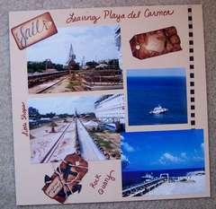 Leaving Playa Del Carmen