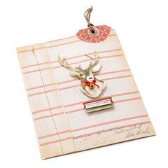 Winter Wonderland Matchbook Style Card