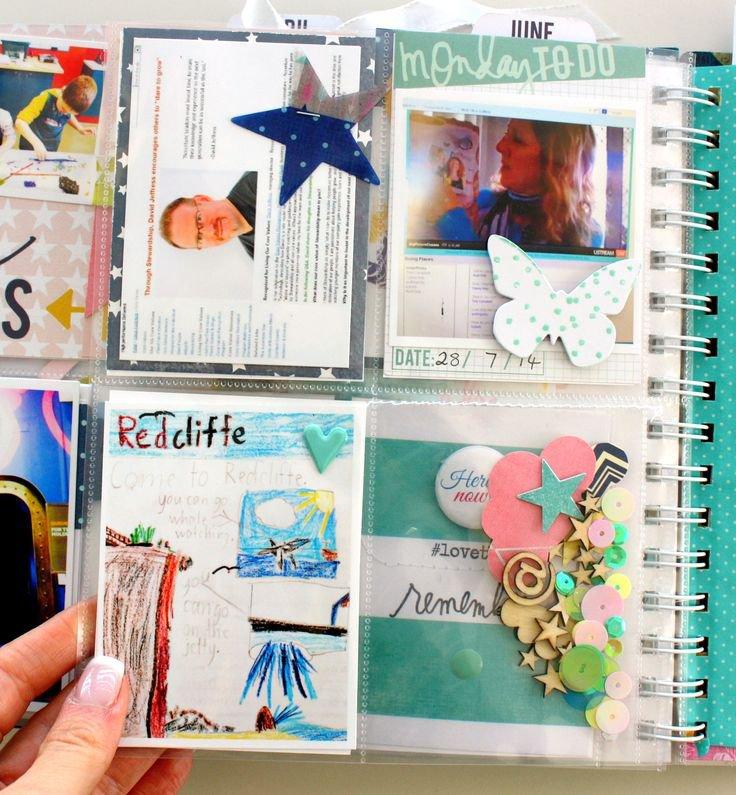 Heidi Swapp Hello Today Memory Planner by Kim Jeffress