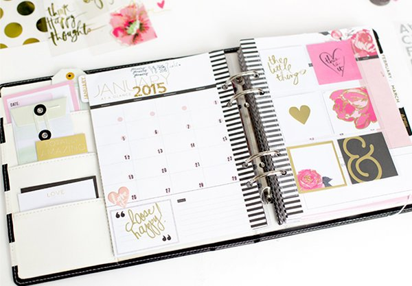 Heidi Swapp's Most Beautiful Memory Planner