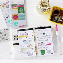 Weekly Planner Layout with Fresh Start Accents