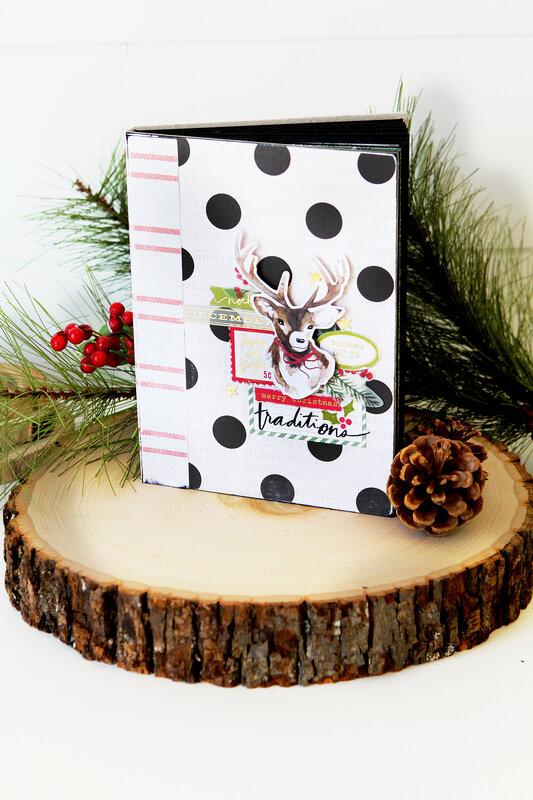 Heidi Swapp Winter Wonderland Envelope Mini Album