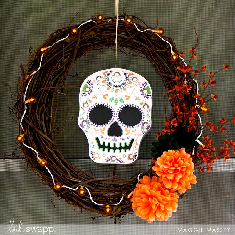Sugar Skull Fall Decor