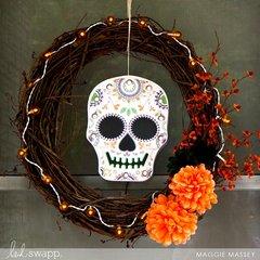 Sugar Skull Fall Decor