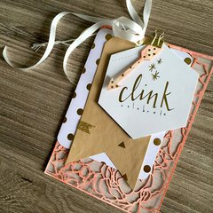 Clink Minc Coaster by Heidi Swapp