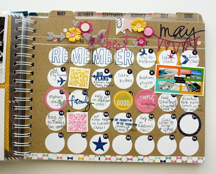 Heidi Swapp Hello Today Memory Planner by Kim Jeffress