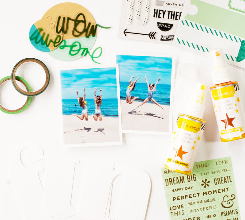 Beautiful Inspiration featuring the New Heidi Swapp Sticker Refresh Products