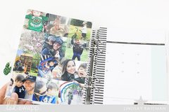 Memory Planner Photo Collage