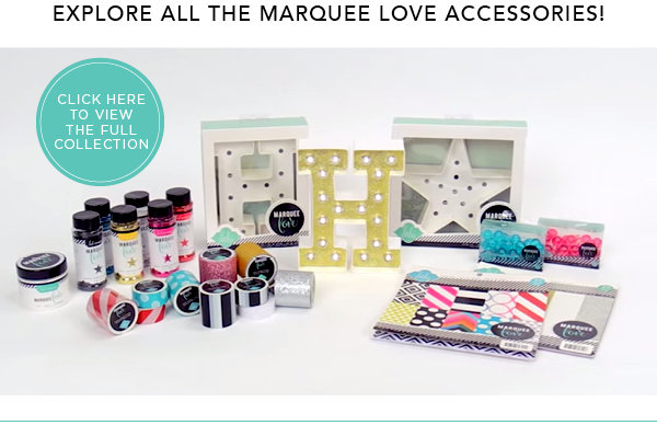 What Accessory will you decorate your Heidi Swapp Marquee Love with?