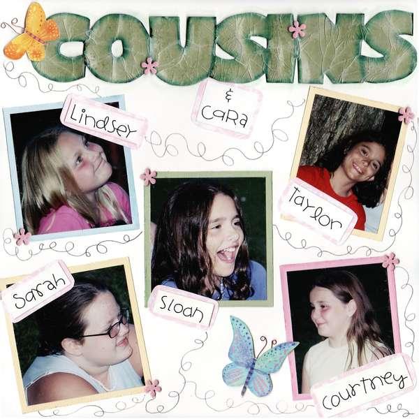 cousins....page 1