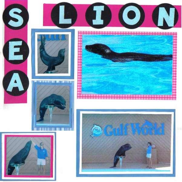 sea lion show (pg. 1)