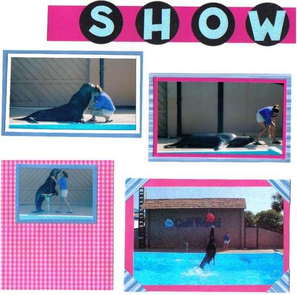 sea lion show Pg 2