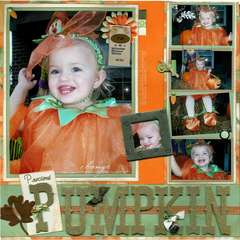 ***PRECIOUS PUMPKIN*** LEFT