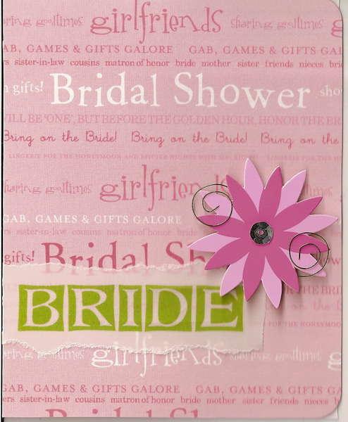 Bridal shower Aug 2007