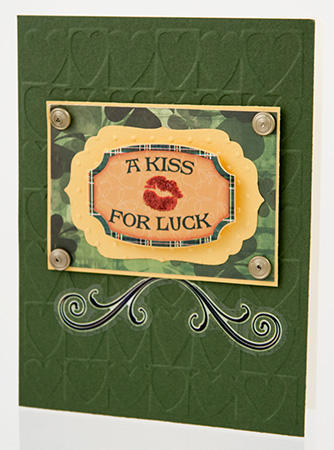 A Kiss for Luck Card