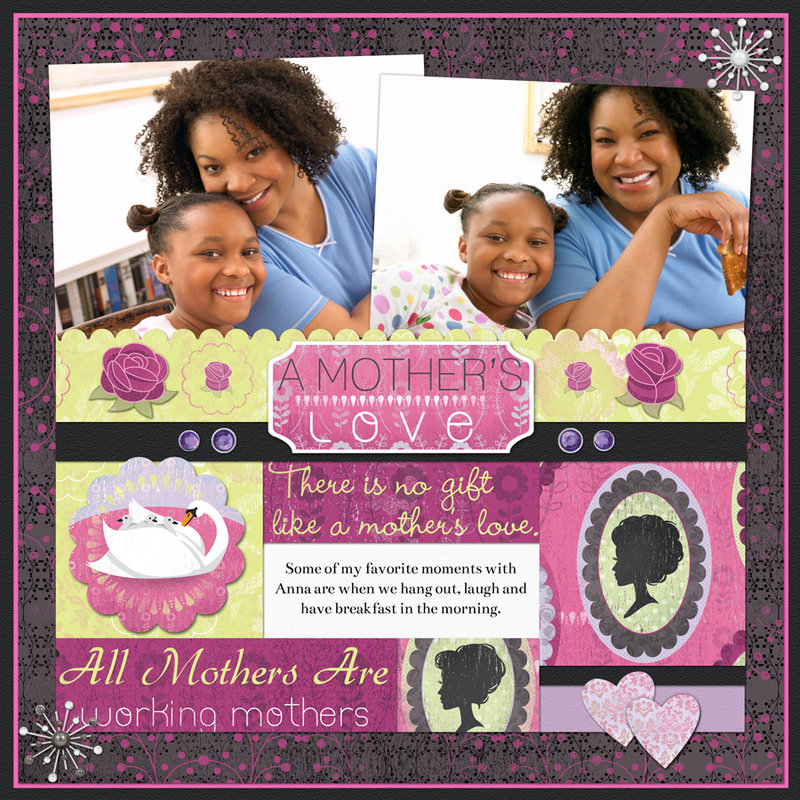 A Mother's Love Layout