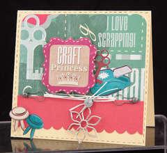 Craft Princess Card